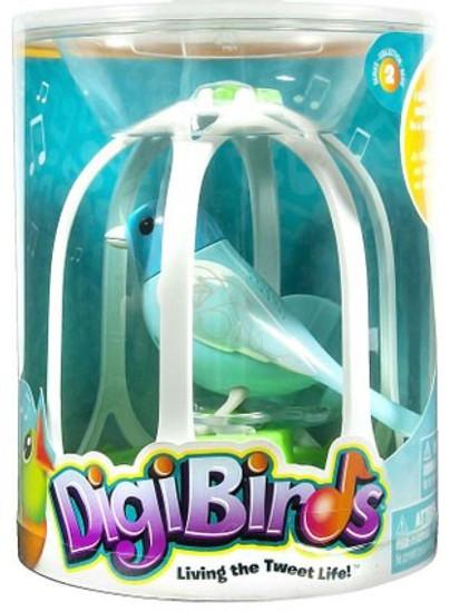DigiBirds Fairytale Bird with Bird Cage