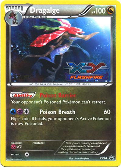 Pokemon X & Y Promo Rare Holo Dragalge XY10