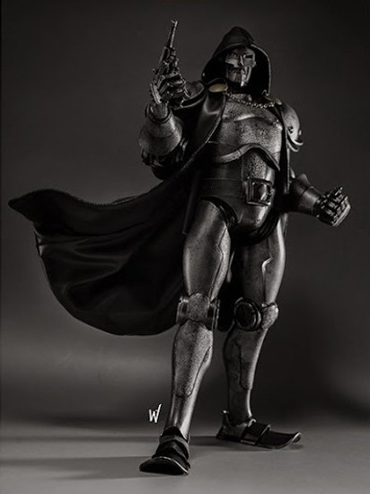 Marvel Doctor Doom Collectible Figure [Stealth]
