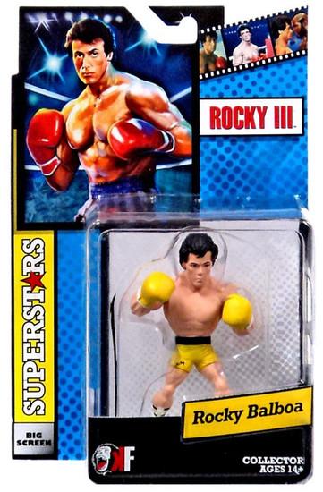 Rocky III Big Screen Superstars Rocky Balboa Mini Figure [Yellow Trunks]