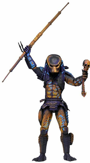 NECA 8-Bit Video Game City Hunter Predator Action Figure