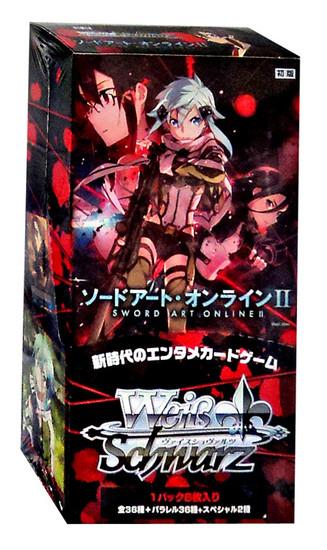 Weiss Schwarz Sword Art Online II Extra Booster Box [Japanese, 6 Packs]