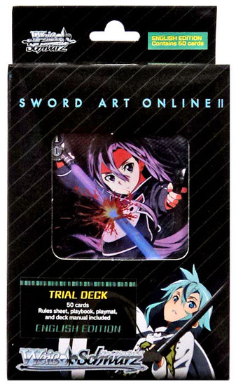 Weiss Schwarz Sword Art Online II Trial Deck [English Edition]