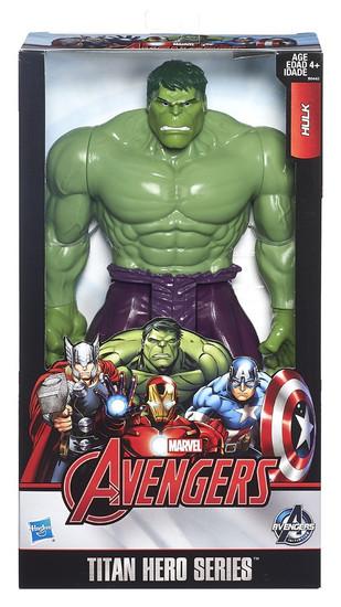 Marvel Avengers Titan Hero Series Hulk Action Figure [Avengers]