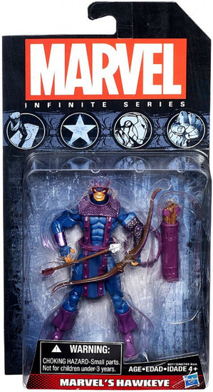 Avengers Infinite Series 4 Marvel's Hawkeye Action Figure