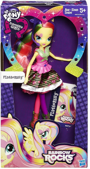 My Little Pony Equestria Girls Rainbow Rocks Fluttershy Doll