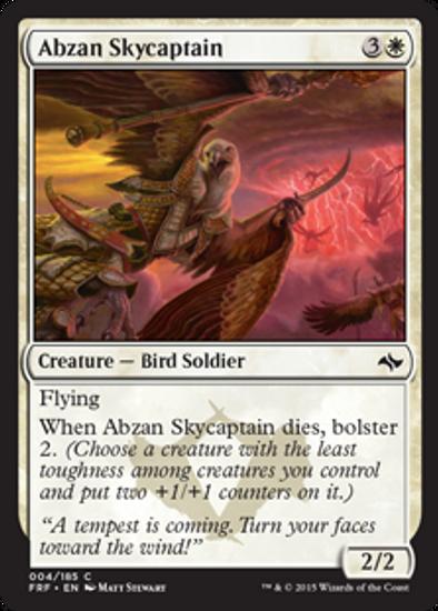 MtG Fate Reforged Common Abzan Skycaptain #4