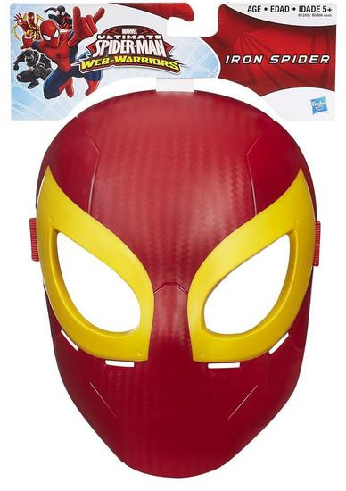 Ultimate Spider-Man Web-Warriors Iron Spider Mask