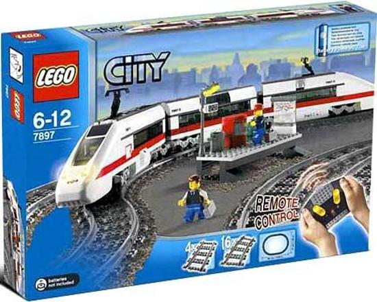 LEGO City Train Starter Set Set #7897 [Damaged Package]