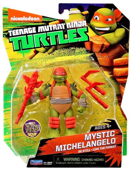 Teenage Mutant Ninja Turtles Nickelodeon Mystic Michelangelo Action Figure