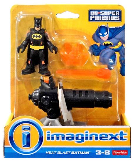 Fisher Price DC Super Friends Imaginext Heat Blast Batman 3-Inch Figure Set