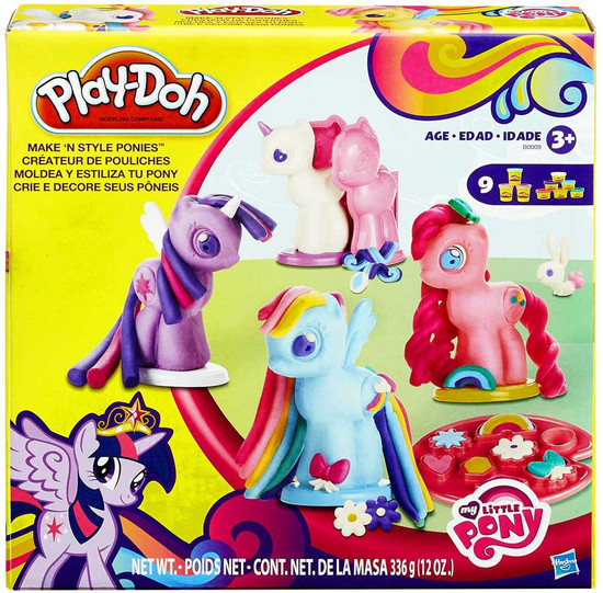 My Little Pony Play-Doh Make 'N Style Ponies Playset