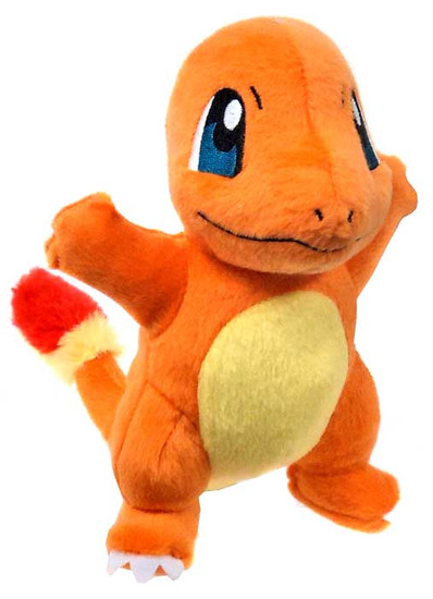 Pokemon XY Charmander 8-Inch Plush [Arms Out, Mouth Closed]