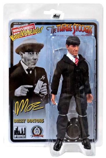 The Three Stooges Dizzy Doctors Moe Action Figure