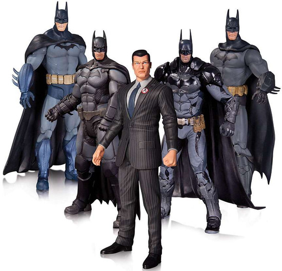 Arkham Series Arkham Batman Action Figure 5-Pack