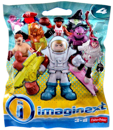 Fisher Price Imaginext Series 4 Collectible Figure Mystery Pack [Regular Series]