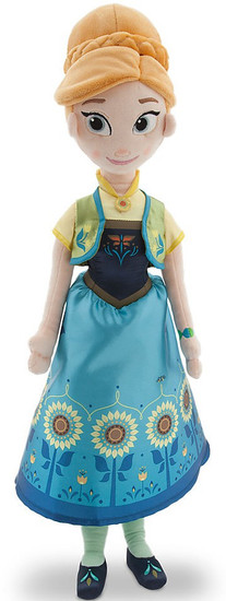 Disney Frozen Frozen Fever Anna Exclusive 20-Inch Plush