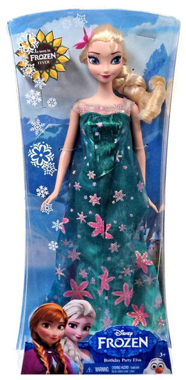 Disney Frozen Frozen Fever Birthday Party Elsa 12-Inch Doll