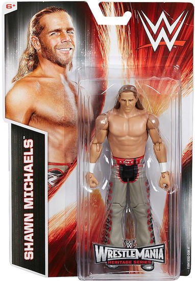 WWE Wrestling Wrestlemania Heritage Shawn Michaels Exclusive Action Figure [Wrestlemania 24]