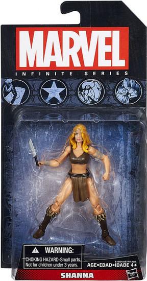 Marvel Avengers Infinite Series 5 Shanna the She-Devil Action Figure