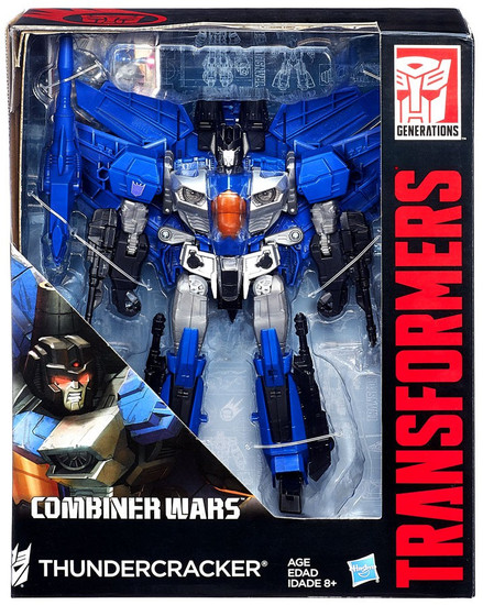 Transformers Generations Combiner Wars Thundercracker Leader Action Figure [Leader]