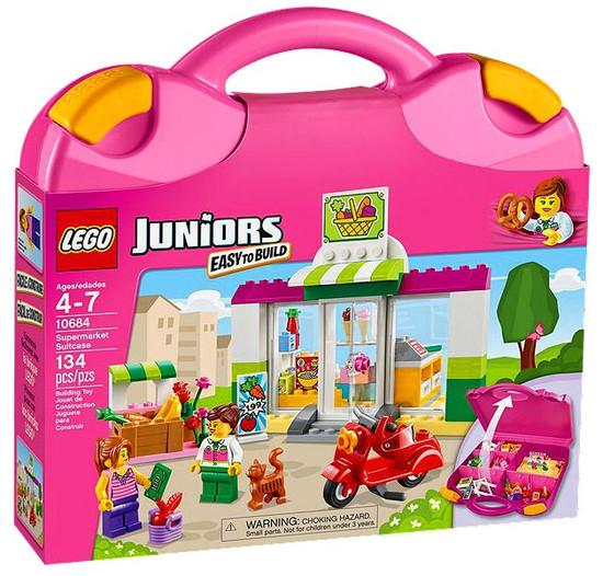 LEGO Juniors Supermarket Suitcase Set #10684