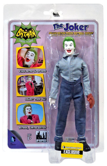 Batman 1966 TV Series Classic TV Heroes The Joker Exclusive Action Figure [Prison Softball Variant]