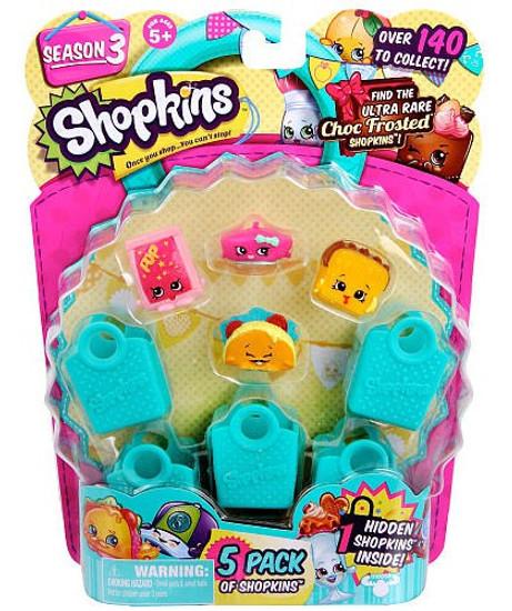 Shopkins Season 3 Mini Figure 5-Pack