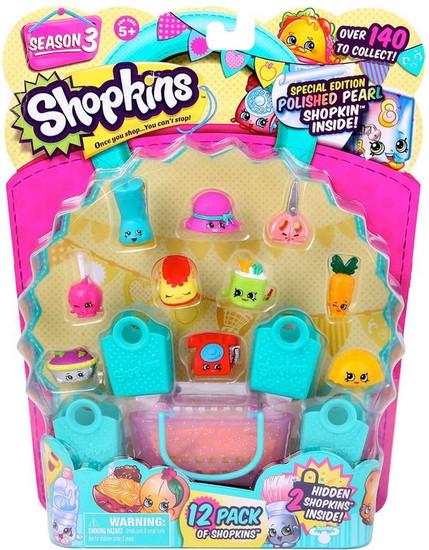 Shopkins Season 3 Mini Figure 12-Pack
