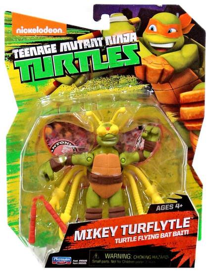 Teenage Mutant Ninja Turtles Nickelodeon Mikey Turflytle Action Figure