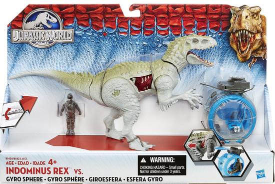 Jurassic World Indominus Rex vs Gyro Sphere Capture Vehicle