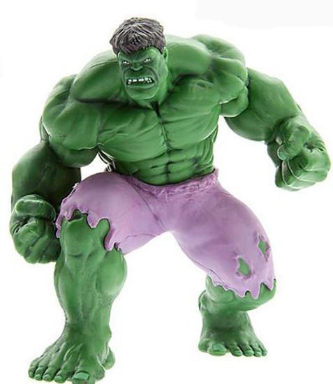 Disney Marvel Avengers Hulk 4-Inch PVC Figure [Loose]