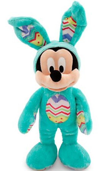 Disney 2015 Easter Mickey Mouse Exclusive 14-Inch Plush [Aqua Blue Bunny Costume]