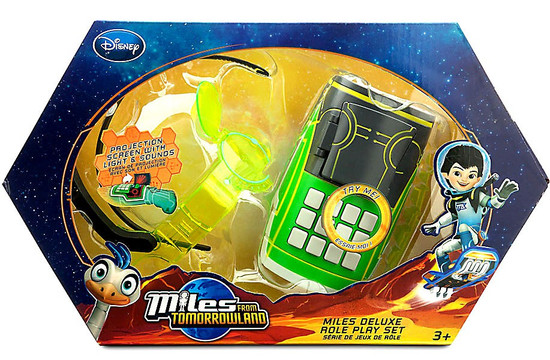 Miles From Tomorrowland Disney Junior Miles Deluxe Role Playset Exclusive Roleplay Toy