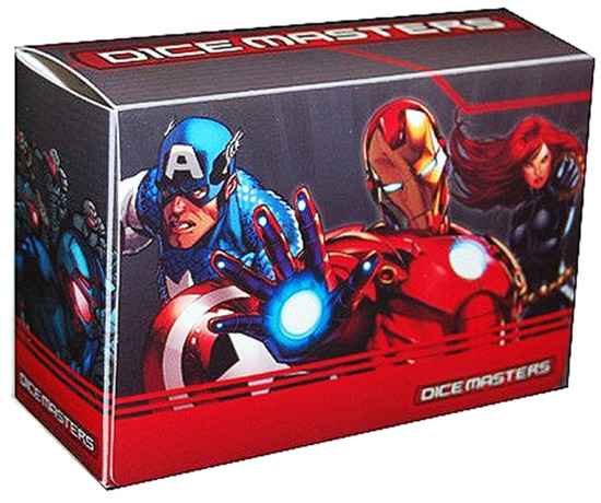 Marvel Age of Ultron Dice Masters Magnetic Dice Box