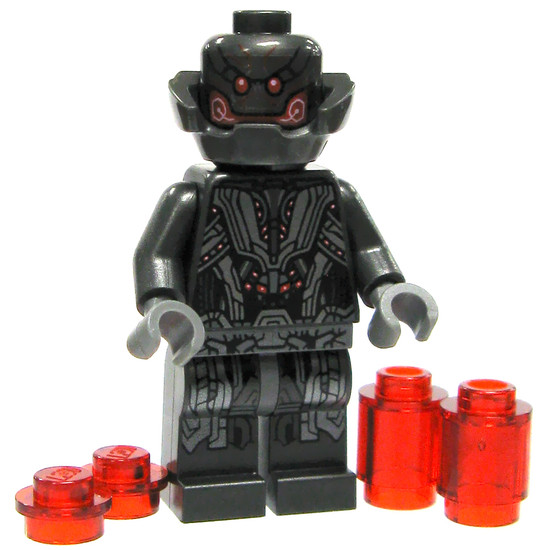 LEGO Marvel Super Heroes Ultron Prime Minifigure [Loose]
