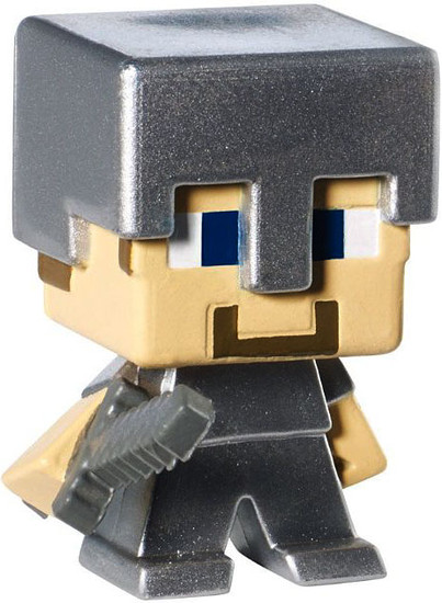 Minecraft Stone Series 2 Iron Steve 1-Inch Mini Figure [Loose]