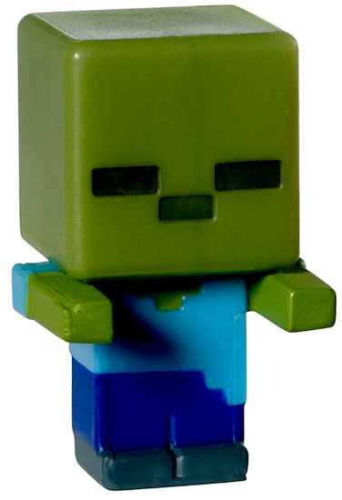 Minecraft Stone Series 2 Zombie 1-Inch Mini Figure [Loose]