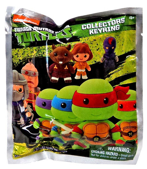 Teenage Mutant Ninja Turtles 3D Figural Keyring TMNT Series 1 Mystery Pack [1 RANDOM Figure]