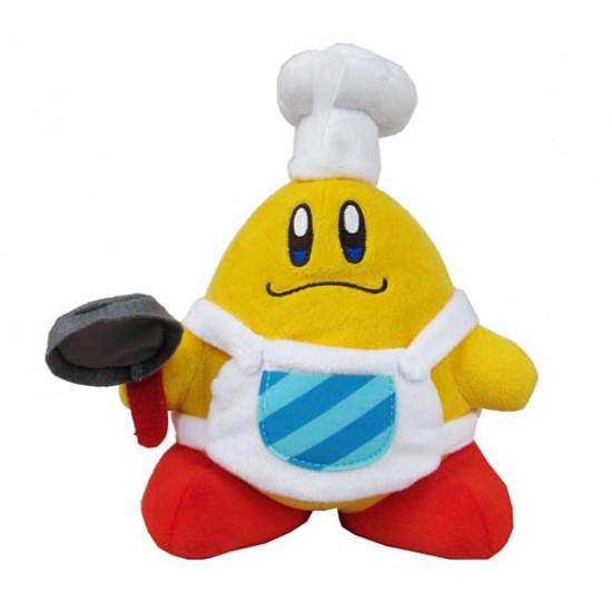 Kirby's Adventure Super Star Chef Kawasaki 8-Inch Plush