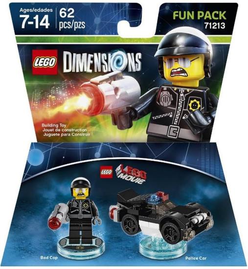 LEGO Dimensions The LEGO Movie Bad Cop & Police Car Fun Pack #71213