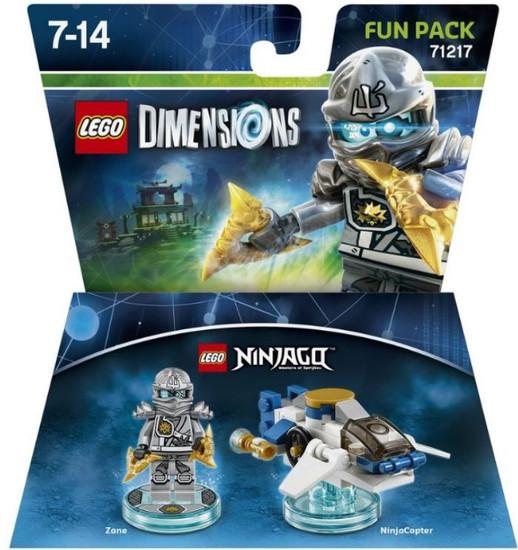 LEGO Dimensions Ninjago Zane & NinjaCopter Fun Pack #71217