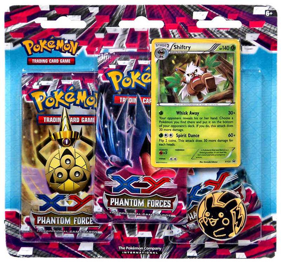 Pokemon X & Y Phantom Forces 3-Pack Special Edition [Shiftry]