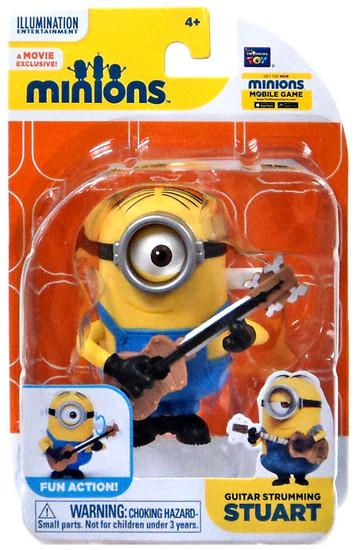 Despicable Me Minions Movie Guitar Strumming Stuart Action Figure