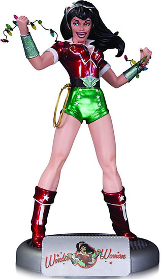 Bombshells Holiday Wonder Woman 10.5-Inch Statue