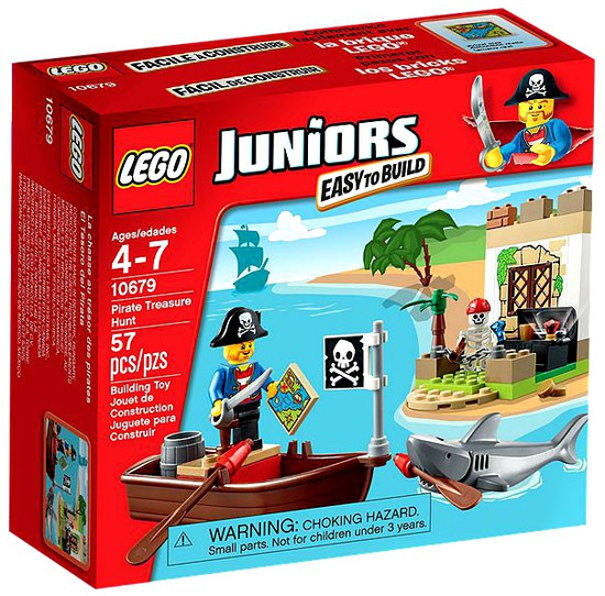LEGO Juniors Pirate Treasure Hunt Set #10679