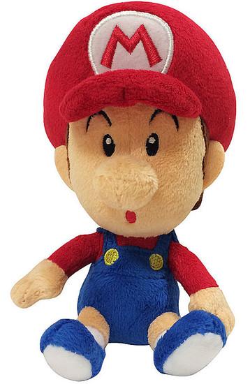 World of Nintendo Super Mario Baby Mario 7-Inch Plush