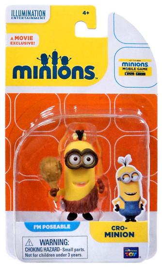 Despicable Me Minions Movie Cro-Minion Action FIgure