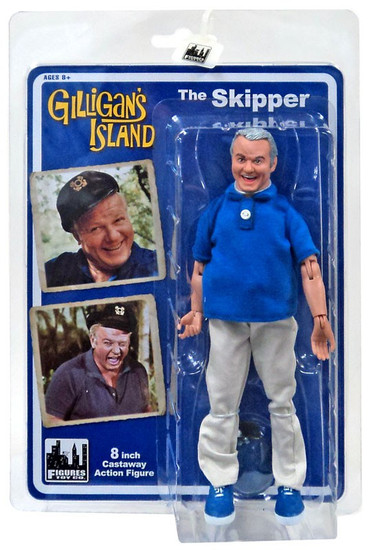"Gilligan's Island The Skipper Action Figure [8""]"