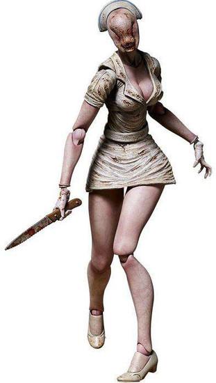 Silent Hill 2 Bubble Head Nurse Figma Action Figure